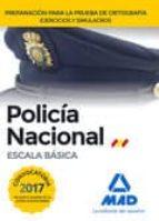 policía nacional escala básica preparación para la prueba de ortografía. ejercicios y simulacros-9788414206942
