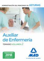 auxiliar de enfermeria de la administracion del principado de asturias (vol. 2) 9788414215142
