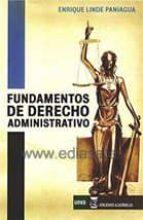 fundamentos de derecho administrativo 2016-enrique linde paniagua-9788416140442