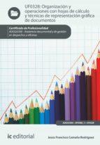 organización y operaciones con hojas de cálculo y técnicas de representación gráfica en documentos. adgg0308 (ebook) jesus francisco camuña rodriguez 9788416629442