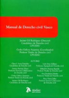 manual de derecho civil vasco-jacinto gil rodriguez-9788416652242