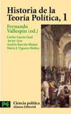 El libro de Historia de la teoria politica (vol. i) autor CARLOS GARCIA GUAL DOC!