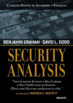 security analysis benjamin graham david l. dodd 9788423426942