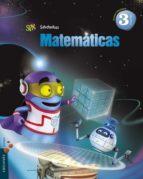 matemáticas 3º primaria proyecto superpixépolis trimestres-9788426393142