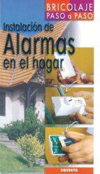 instalacion de alarmas en el hogar (bricolaje paso a paso)-guy loison-9788430539642