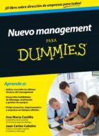 nuevo management para dummies (ebook)-ana maria castillo-juan carlos cubeiro-9788432902642