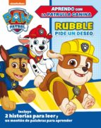 rubble pide un deseo (paw patrol) 9788448851842