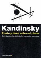 punto y linea sobre el plano: contribucion al analisis de los ele mentos pictoricos vasili kandinsky 9788449303142