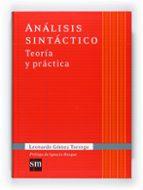 analisis sintactico leonardo gomez torrego 9788467541342