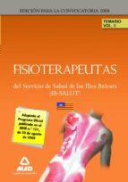 fisioterapeutas del ib salut. temario. volumen ii 9788467603842