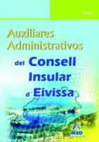 auxiliares administrativos del consell insular d eivissa. test margarita sendin rebassa 9788467637342