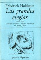 las grandes elegias (1800 1801) friedrich hölderlin 9788475171142