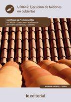 (i.b.d.)ejecucion de faldones en cubiertas. eocb0208 operaciones auxiliares de albañileria de fabricas y cubiertas 9788483648742