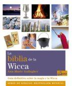 la biblia de la wicca ann marie gallagher 9788484454342