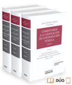 comentarios a la legislacion de contratación pública-emilio jimenez aparicio-9788490995242
