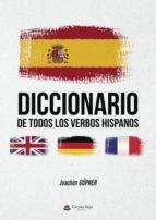 diccionario de todos los verbos hispanos (ebook) joachim güpner 9788491838142