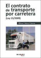 contrato de transporte por carretera-alfonso cabrera cánovas-9788492442942