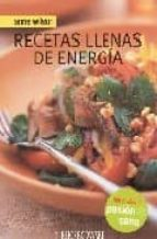 recetas llenas de energia anne wilson 9788496592742