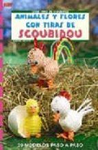 animales y flores con tiras de scoubidou sabine koch 9788496777842