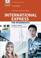 international express: pre intermediate student book pack (with dvd rom and pocket book). third edition keith harding rachel appleby 9780194597852