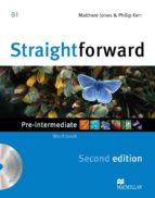 straightforward pre intermediate  2nd ed workbook pk 9780230423152