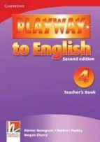 playway to english (2nd ed.): teacher s book (nivel 4) herbert puchta 9780521131452