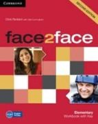 face2face for spanish speakers workbook with key (2nd ed) (level elementary) 9780521283052