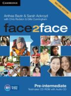face2face for spanish speakers testmaker cd-rom and audio cd (2nd edition) (level pre-intermediate)-9781107609952