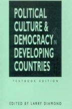 political culture and democracy in developing countries larry diamond gabriel almond 9781555875152