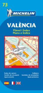 plano michelin valencia (ref.19073) 9782067127852