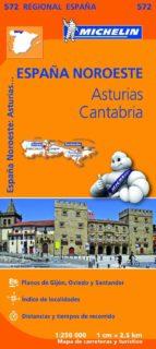 mapa regional asturias, cantabria 9782067184152