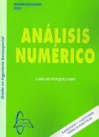 analisis numerico. ejercicios y cuestiones teorico practicas carlos vazquez espi 9788415793052