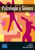 psicologia y genero isabel martinez esther barbera 9788420537252