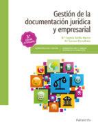 gestion de la documentacion juridica y empresarial-maría eugenia bahillo marcos-9788428339452