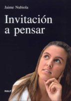invitación a pensar (ebook)-jaime nubiola-9788432137952