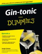 gin-tonic para dummies-sergio estevez-9788432901652