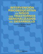 intervencion psicoeducativa en niños con trastornos generalizados del desarrollo-francisco alcantud marin-9788436818352