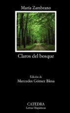 claros del bosque-maria zambrano-9788437628752
