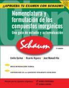 nomenclatura y formulacion de los compuestos inorganicos emilio quiñoa cabana 9788448146252