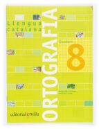 quadern ortografia catalana nº 8 primaria margarida canonge antonia colom 9788466110952