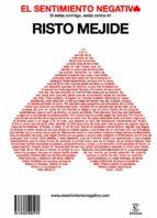 el sentimiento negativo (ebook)-risto mejide-9788467035452
