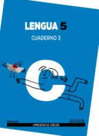 lengua 5. cuaderno 3. 5º tercer ciclo 9788467832952