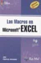 las macros en excel (incluye cd rom)-juan pallerola comamala-9788478978052