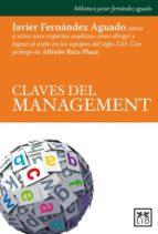 claves del management-javier fernandez aguado-9788483567852