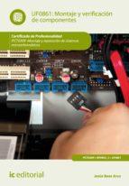 montaje y verificación de componentes. ifct0309 (ebook)-9788483647752