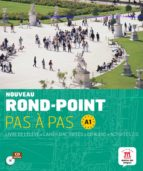 nouveau rond-point pas a pas a1 (contiene libro del alumno, el cuaderno de ejercicios y cd-audio)-9788484436652