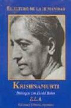 el futuro de la humanidad-david bohm-jiddu krishnamurti-9788489836952
