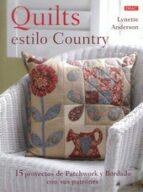 quilts estilo country lynette anderson 9788498744552