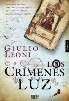 los crimenes de la luz-giulio leoni-9788498779752