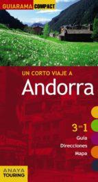 un corto viaje a andorra 2015 (guiarama compact) francisco sanchez ruiz 9788499356952